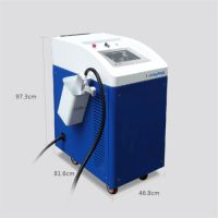 100W Metal And Non-metal Surface Laser Cleaner Oil Cleaning Duster Machine