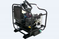 PRESSURE WASHER - Cold Water - Skid Mounted - 6 GPM 7000 PSI 43 Hp Diesel AR