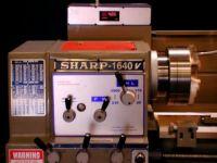 "18"" Swg 80"" cc Sharp 1880LV ENGINE LATHE, D1-8 Camlock w/3-1/16"" bore; variable"
