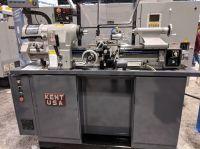 KENT CTL 618 EVS Precision Toolroom Lathe vari drive, 5-C, inch-metric