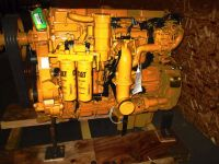 New Caterpillar C-13 Engine, With After Treatment Engine Serial Number KWJ01886