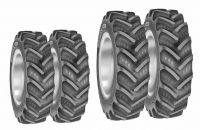 Tractor Tyre Set 460/85Rx34 & 380/85Rx 24BKT Agrimax 4 tyres