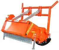 LIPA UFK-I FOREST shredder / mower for skid steer and bobcat