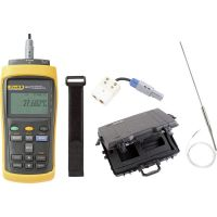 Fluke Calibration 1523-P4-256 Precision Thermometer -200 up to +2315 C Sensor Type PRT, Precision thermistor, Thermocou