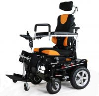 WLG Electric Standing Wheelchair Elderly Disabled, Standing Up, Lying Down, Electric Mobility Wh