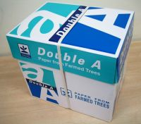 Double A A4 copy paper 70gsm 75gsm 80gsm china manufacturer cheap copy paper