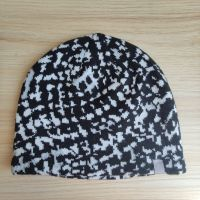 Jacquard knitted hat