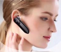 Single ear hanging bluetooth headset