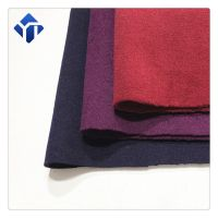 In stock multicolor twill melton wool fabric for women clothing