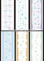 Various colored Cartoon embossed PE film for sanitary napkin, diapers