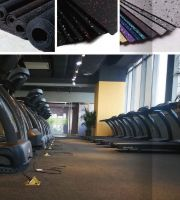 Rubber rolls for gym