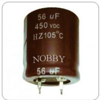 electrolytic capacitor snap in