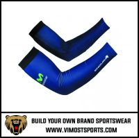 Sublimation Printed Men Cycling Arm Warmer Sleeves