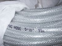pvc reinforced water hose, pvc netting hose, clear