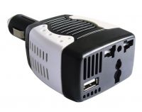 Sell Car power inveter 12V dc to ac 220v  75W car power inveter