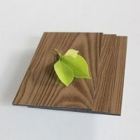 TEAK PVDF MARBLE composite Wood Cladding