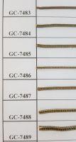 Brass Chain(Ball chain, Fox chain), Jewelry chain