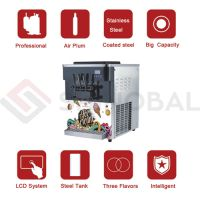 Table Top Free standing Soft and Hard ice Cream Machine in UAE with Best Price