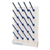 Plastic Wall Mount Drying Rack With Pegs
