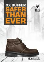 OX Buffer Safety Shoe - Mid Cut
