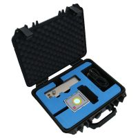 Laser strightness measuring