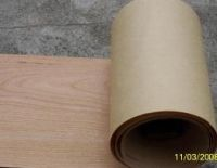Sell  cherry veneer with paper back
