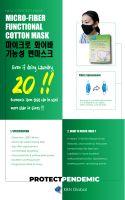 Micro Fiber cotton mask (Premium / made in korea)