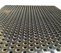 Micro-hole punching of sound-absorbing wall- aluminum plate