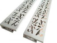 Competitive price PVDF sprayed aluminum plate with carved design