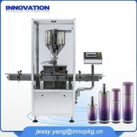 Automatic facial toner filling machine
