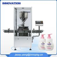 industrial body lotion filling machine