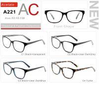 Acetate Eyeglasses Frames A221-1