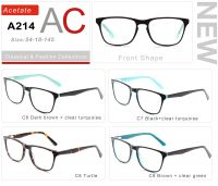 Acetate Eyeglasses Frames A214-2
