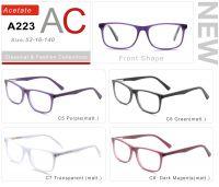 Acetate Eyeglasses Frames A223-2