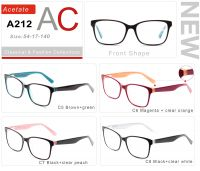 Acetate Eyeglasses Frames A212-2