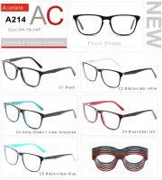 Acetate Eyeglasses Frames A214-1