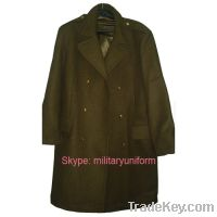 Sell military Wool Great Coat Overcoat Camouflage Backpack Wool Beret