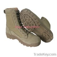 Sell desert boots Combat Boot Jungle Boot Patent PU Shoes Police Shoes