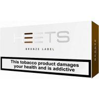 Heets Bronze Cigarettes