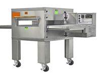 Gas pizza conveyor oven