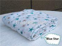 Breathable Soft Baby Muslin Swaddle, Muslin Blanket, Muslin Wrap