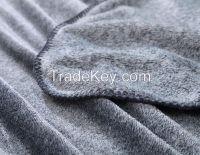Pure Polyester Flannel Blanket, Airline Blanket, Travelling Blanket
