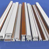 Factory direct supply White color 60 Casement Plastic Profiles series