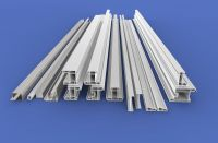 Factory direct supply 80 sliding white color plastic profiles series