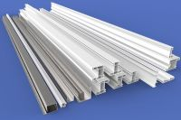 Factory direct supply 88 sliding white color plastic profiles series