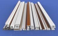 Factory supply single-sided color plastic steel -80 sliding profiles