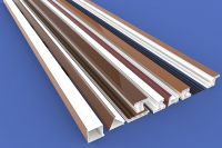 Factory supply single-sided color 88 sliding profiles series