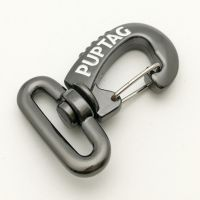 antique silver zinc alloy swivel snap hook for luggage
