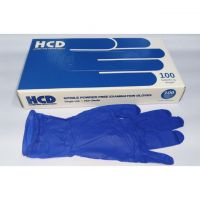 Puncture resistance surgical examination white disposable medical rubber gloves