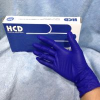 Transparent Color Standard Medical Disposable PE Glove